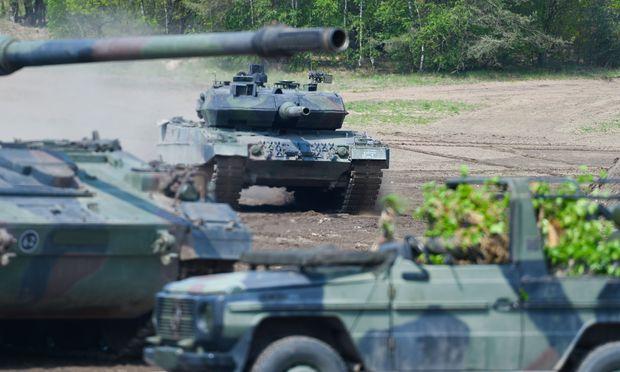 Der Kampfpanzer Leopard 2 ist ein deutscher Exportschlager.
