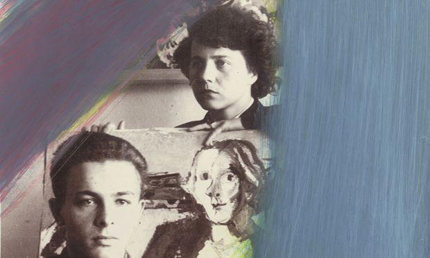 Erst war es Liebe, dann Konkurrenz: 2004 übermalte Rainer ein gemeinsames Foto mit Lassnig von 1949.