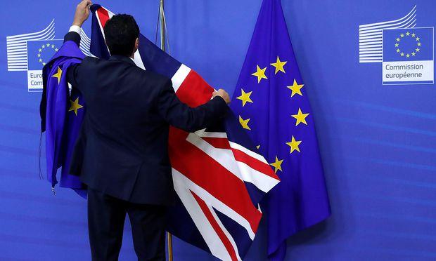 Bisher verliefen die Verhandlungen zur Scheidung Großbritanniens von der EU sehr schleppend.