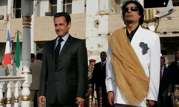 Bericht: Frankreichs Ex-Präsident Sarkozy in Polizeigewahrsam