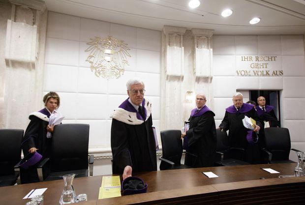 Öffentliche Verhandlung des VfGH vor der Wahlaufhebung