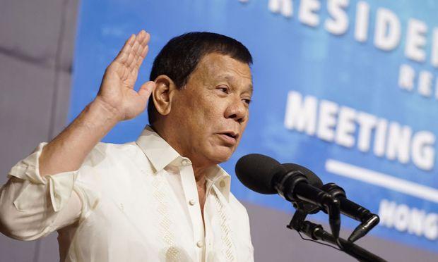 Präsident Rodrigo Duterte hatte kritische Europäer als verrückt bezeichnet