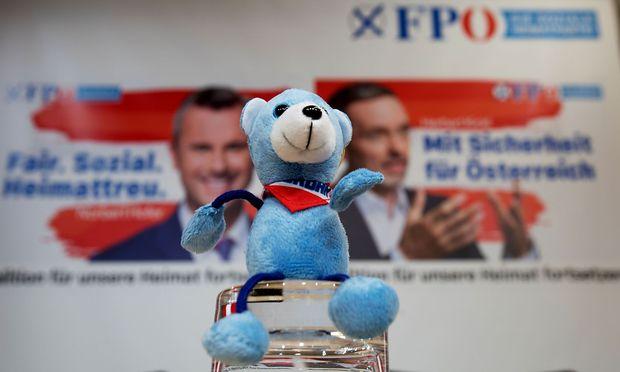 Die FPÖ präsentierte ihre Plakatkampagne für die anstehende Nationaltratswahl.