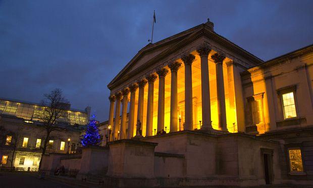 Das University College (UCL) im Herzen Londons gilt als eine der vier Top-Unis Englands.