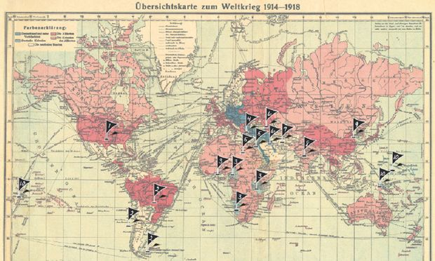 Schlachtfelder Des 2 Weltkriegs Karte.Was Osterreichs Krieg Erst Zum Weltkrieg Machte Diepresse Com