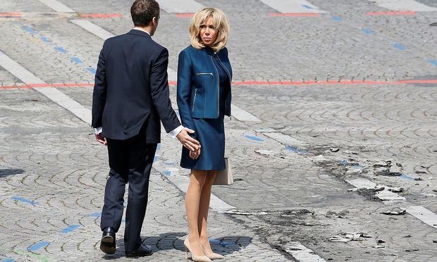 Keine Politfunktion für Brigitte Macron