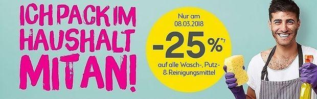 Rabattaktion zum Frauentag.