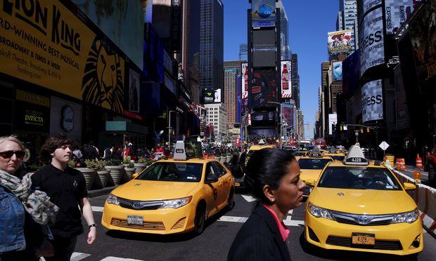 So bietet New York Fahrdiensten wie Uber die Stirn