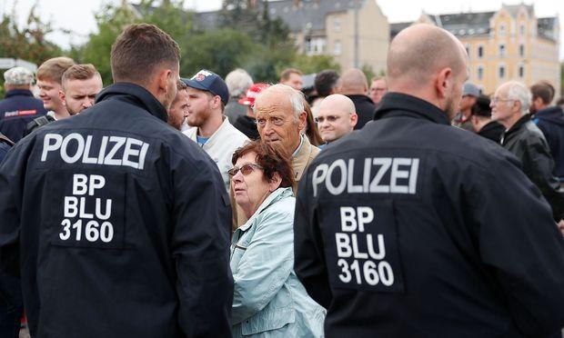 Seit dem Übergriff gab es in Chemnitz immer wieder Demonstrationen rechter und linker Gruppen.