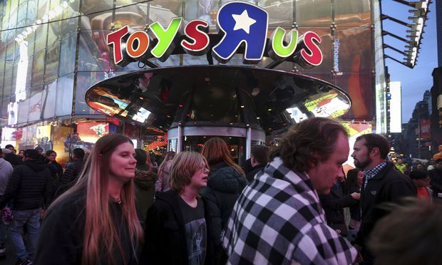 Toys R Us ist insolvent.