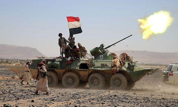 Kämpfer jemenitischer Stämme.