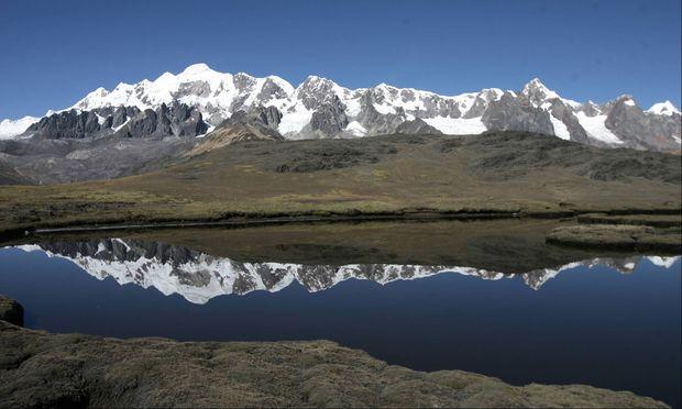 Die Seen am Fuße des Ausangate (6384 Meter) sind viel zu kalt zum Baden.