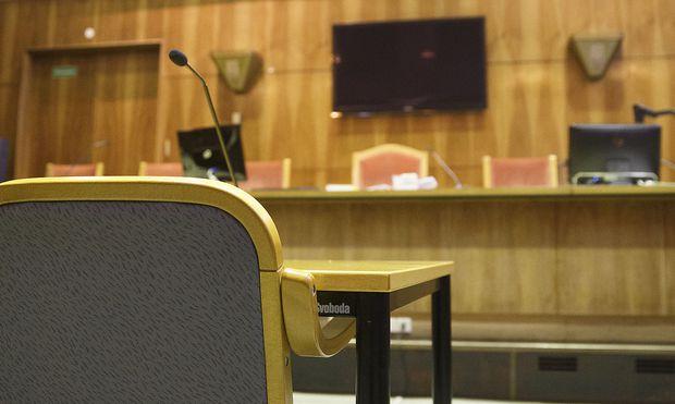 Archivbild aus dem Grazer Straflandesgericht