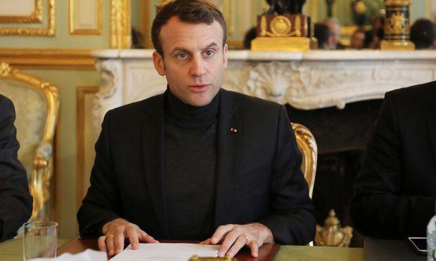 Frankreichs Staatschef Emmanuel Macron.