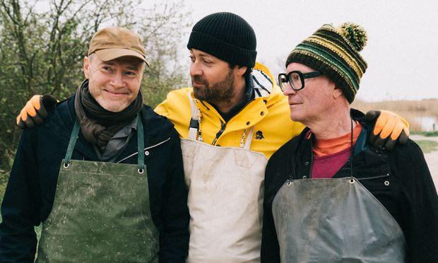 v.l.: Florian Holzer, Ingo Pertramer undThomas Nowak