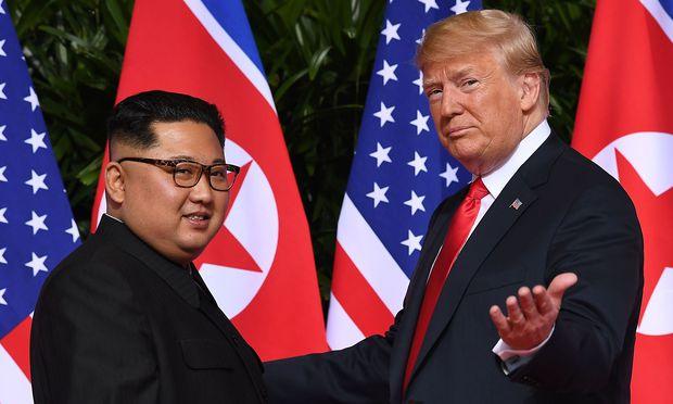 Gipfel zwischen Trump und Kim: Letzte Vorbereitungen