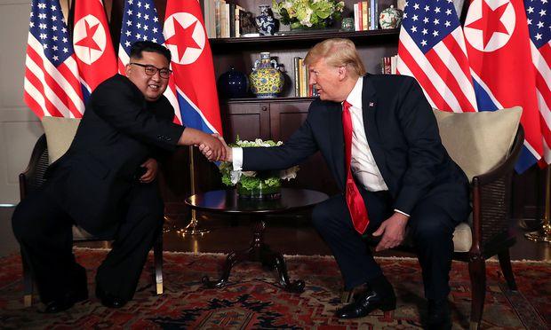 Unterhändler bereiten Singapur-Gipfel von Trump und Kim vor