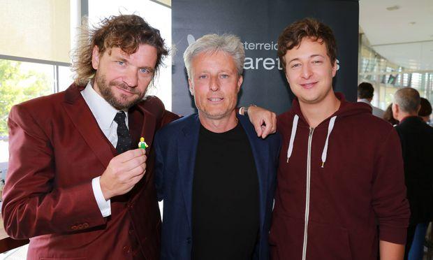 Kabarettpreis 2015 Wien Urania 02 09 2015 Martin PUNTIGAM Florian SCHEUBA Fritz JERGITSCH Di