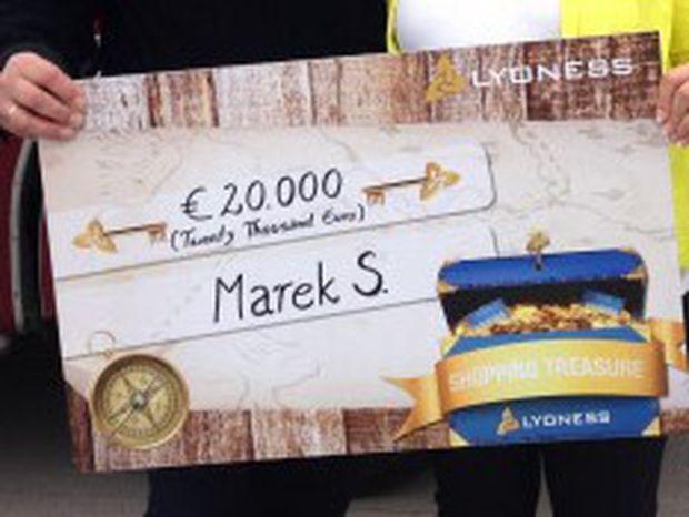 Ein Gewinn bei einer früheren Lyoness-Kampagne.