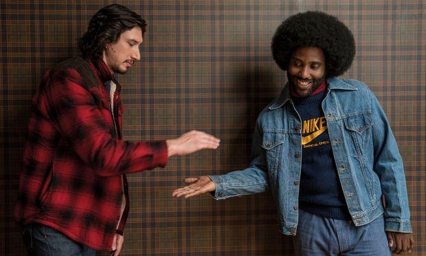 """Adam Driver und John David Washington in Spike Lees Beitrag zur Rassismusdebatte: """"BlacKkKlansman"""". / Bild: (c) David Lee/ 2018 FOCUS FEATURES LLC"""