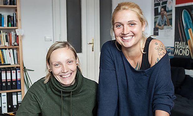 Die Gründerinnen Simone Melda (links) und Melanie Ruff (rechts)