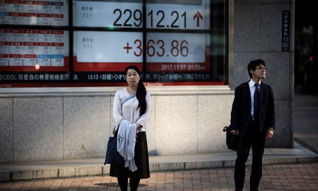 Anziehende Preise in Japan lassen Anleger auf höhere Dividenden hoffen.
