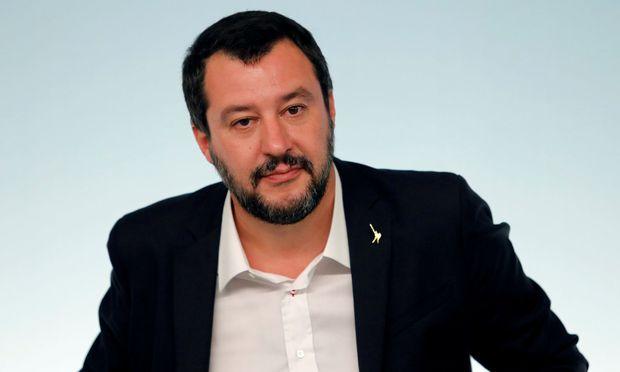 Vizepremier Matteo Salvini