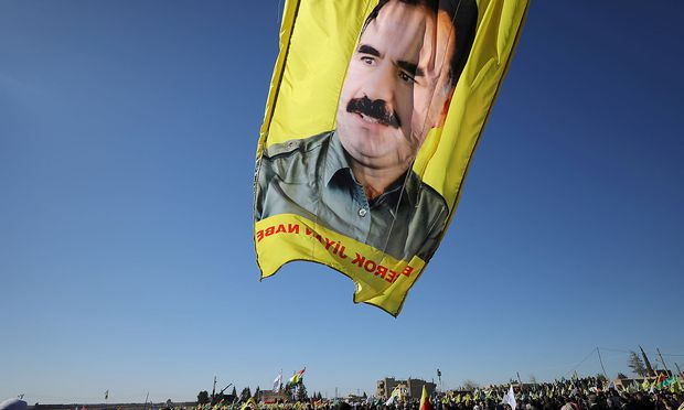 Immer wieder gab es Proteste gegen Öcalans Isolationshaft.