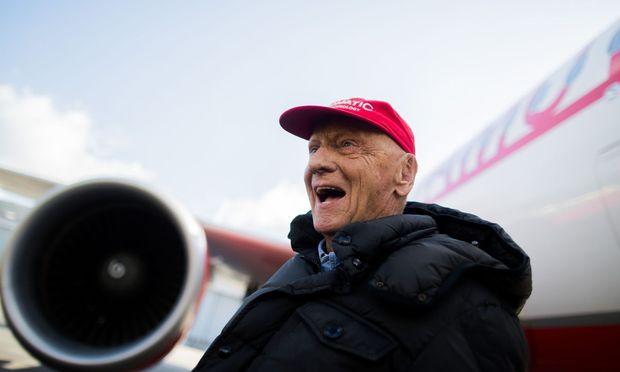 """Für Lauda wichtig: """"Ich behalte das Steuer in der Hand, Laudamotion bleibt österreichisch."""""""