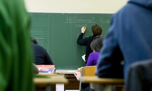 Schüler an einem Gymnasium (Archivbild)
