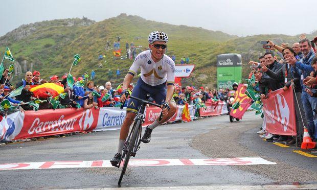 Denifl gewinnt sensationell die 17. Vuelta-Etappe