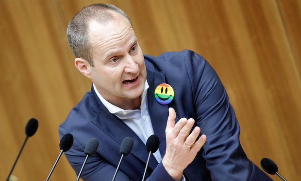Matthias Strolz im Nationalrat