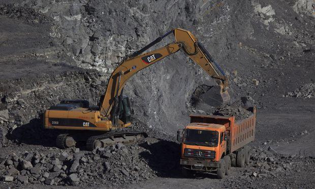 Bergbau / Bild: EPA