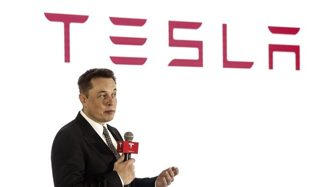 BEIJING CHINA OCTOBER 23 CHINA OUT Elon Musk Chairman CEO and Product Architect of Tesla Mot