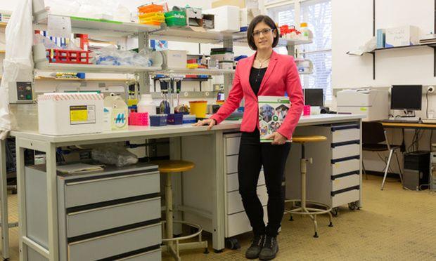 In ihrer Jugend war Carina Hasenöhrl Spitzensportlerin, jetzt sucht sie sich ihre Ziele in der Krebsforschung.