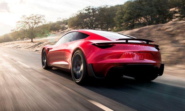 Der neue Roadster wurde von Tesla präsentiert. / Bild: REUTERS