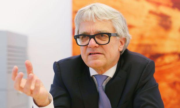 Voestalpine-Chef Wolfgang Eder strebt angeblich eine Vertragsverlängerung an