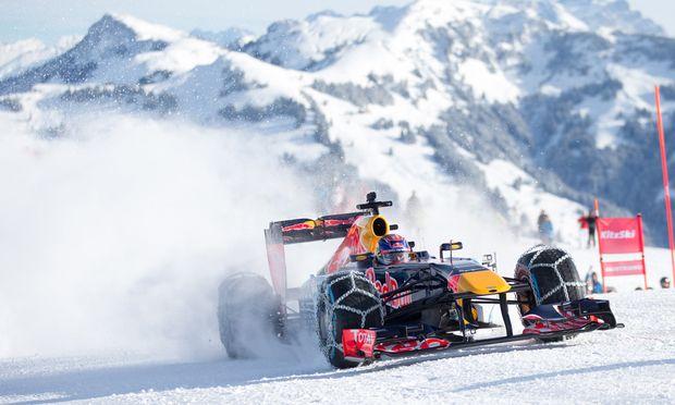 Formel 1: Ein Rennwagen mit Schneeketten « DiePresse.com