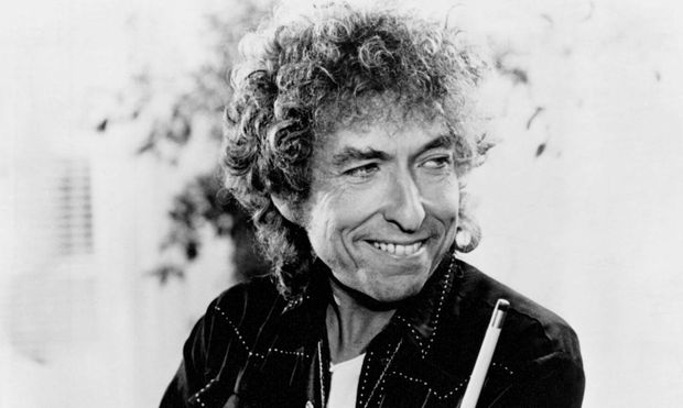1980s photo of American folk singer Bob Dylan Born Albert Zimmermann on May 24th 1941 Aufnahmed