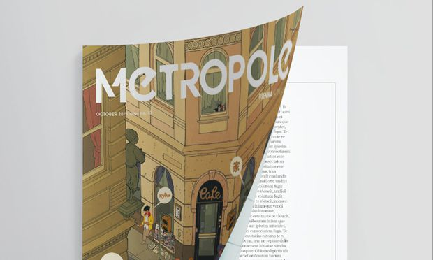 "Screenshot Webseite:  ""Metropole""-Magazin"