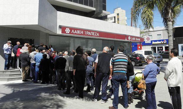 CYPRUS ECONOMY FINANCIAL CRISIS