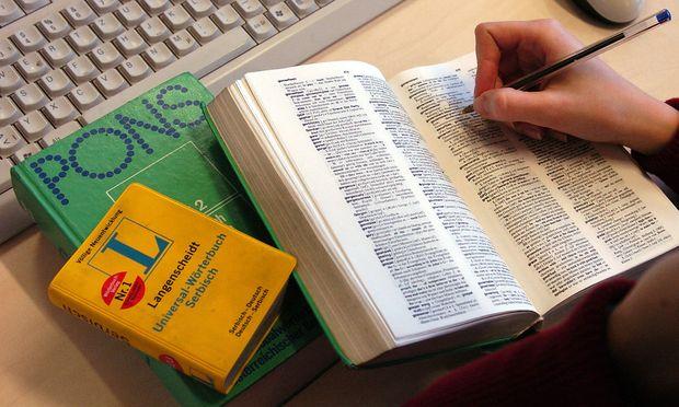 Symbolbild: Wörterbücher
