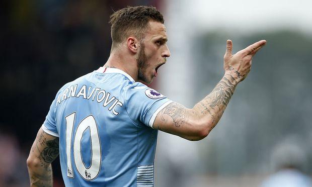 Stoke City's Marko Arnautovic
