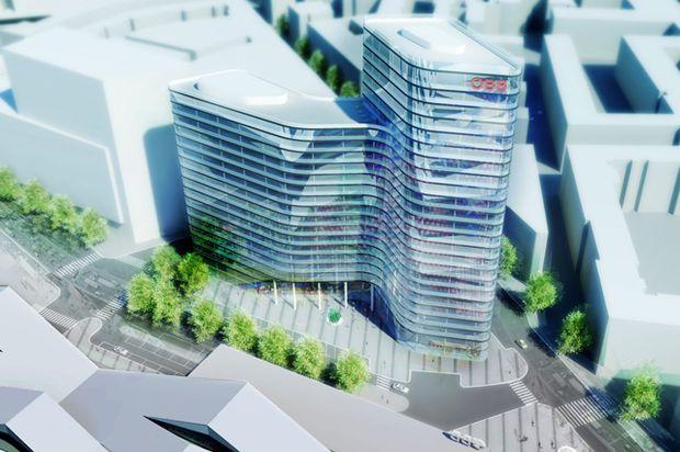 Der neue Firmensitz soll etwa 88 Meter hoch werden.