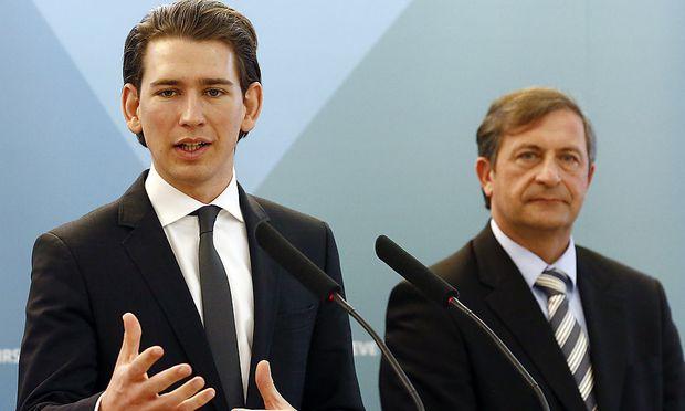 Außenminister Kurz zu Besuch bei seinem slowenischen Kollegen Erjavec