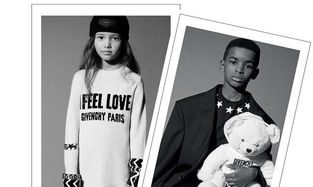 High Fashion. Bloß nicht lächeln. Bei Givenchy sind schon die Kleinen ganz groß.