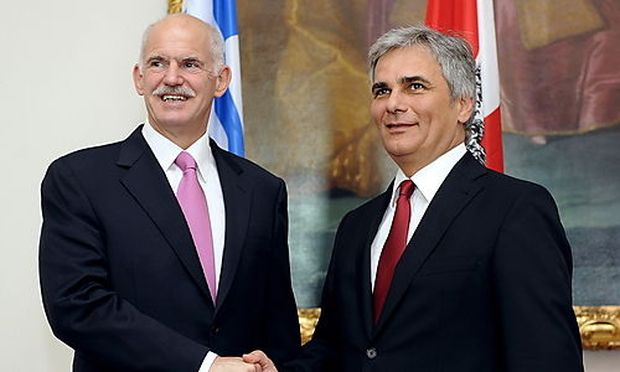 Faymann hält Euro-Austritt Griechenlands für möglich