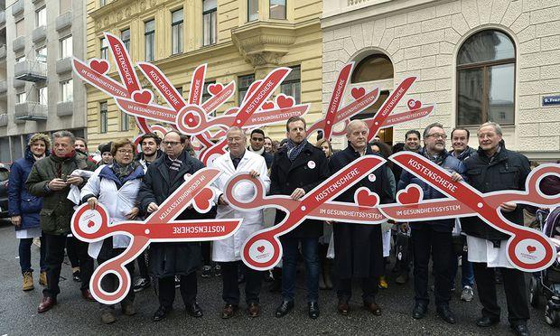 Ärzteprotest - Streiktag gegen