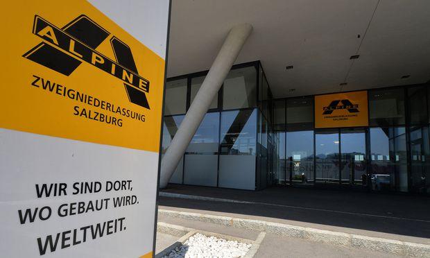 Für die 2013 Pleite gegangene Alpine Bau kommen die EU-Vorschläge zu spät.