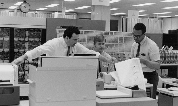Das waren noch goldene Zeiten: IBM in den 60er Jahren.